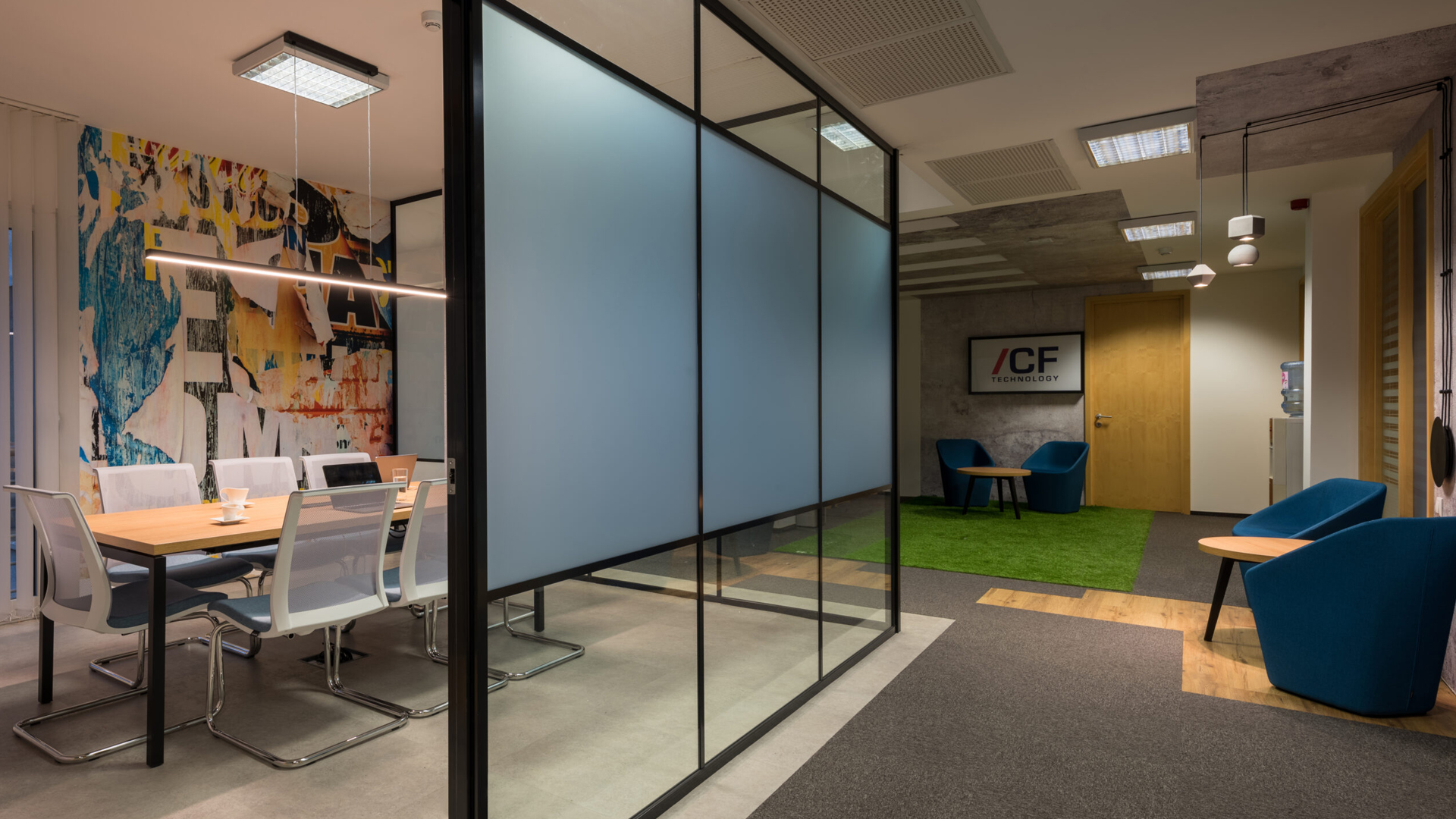 New Office Look for ICF Tech Hungary